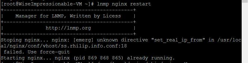 Cloudflare下Nginx获取用户真实IP地址
